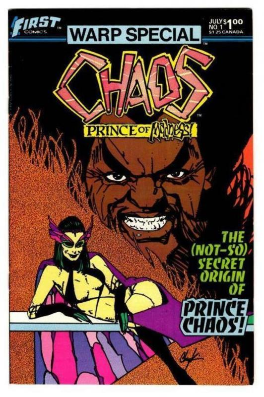 CHAOS #1, FN, Warp Special, Prince Chaos, Chaykin, First, 1983, more in store