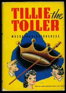 Tillie the Toiler and the Masquerading Duchess w/ dust jacket Whitman #2384
