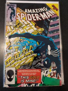 ​AMAZING SPIDER-MAN #268 - High Grade! EARLY APPEARANCE OF BLACK COSTUME