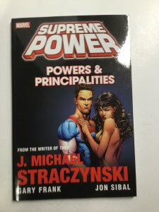 Supreme Power Powers And Principalities Tpb Softcover Near Mint Marvel