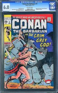 Conan #3 (Marvel, 1971) CGC 6.0
