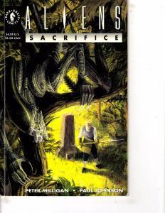Lot Of 2 Comic Books Dark Horse Alien Rogue #2 and Sacrifice #1 MS9
