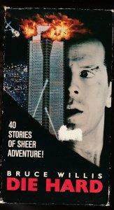 Die Hard VHS  Bruce Willis' first action movie !
