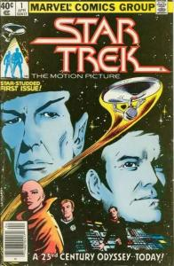 Star Trek (1980 series) #1, VF+ (Stock photo)