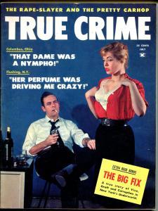 True Crime 7/1959-Skye-car hop murder-Japanese Policewoman-FN