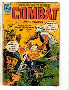 Combat # 18 VG 1965 Dell Silver Age Comic Book Army Navy Marines War Air For FH2
