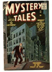 MYSTERY TALES #54 1957-ATLAS-HORROR-Reed Crandall
