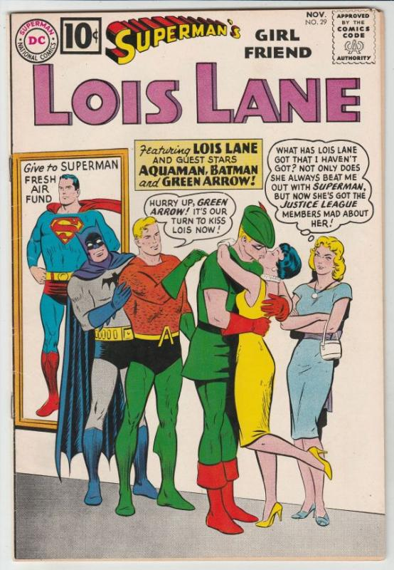 Superman's Girlfriend Lois Lane #29 (Nov-61) VF/NM High-Grade Superman, Lois ...