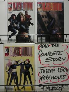 BLACK WIDOW (2001) 1-3  Grayson, Rucka & Hampton COMICS BOOK