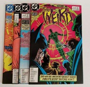 THE WEIRD # 1, 2, 3 & 4 (Full Set) - NM- Jim STARLIN / Berni WRIGHTSON 1988