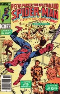 Spider-Man, Peter Parker Spectacular #83 (Oct-84) NM Super-High-Grade Spider-Man