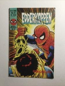 Edderkoppen Spider-Man Nr 6 Danish Fine Fn 6.0 Marvel