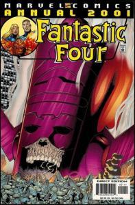 Marvel FANTASTIC FOUR (1961 Series) ANNUAL #2001 FN+
