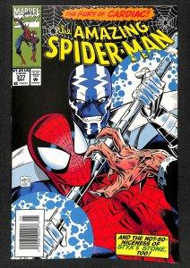 Amazing Spider-Man #377 Cardiac!