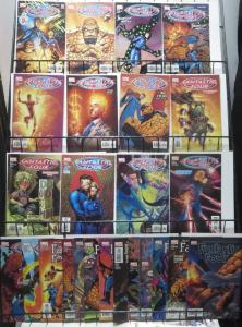 FANTASTIC FOUR by MARK WAID! 25 books,  FINE  or BETTER! Wieringo!Kesel!Porter!