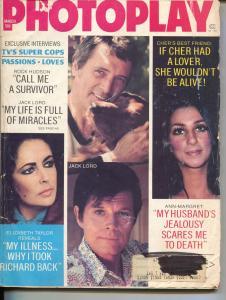 Photoplay-Jack Lord-ock-Hudson-Liz Taylor-Robert Redford-March-1974