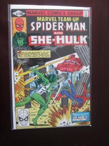 Marvel Team-Up #107 Direct - 9.0 - 1981