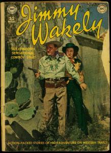 Jimmy Wakely #4 1950- Frazetta- Alex Toth- Kurtzman- DC Western FR/G