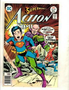 Action Comics #466 VF- DC Comic Book Batman Superman Flash Wonder Woman Atom GK5