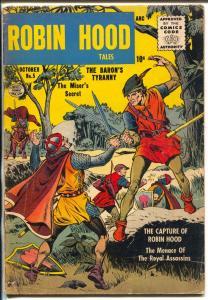 Robin Hood Tales #5 1956-Quality-Matt Baker art-VG
