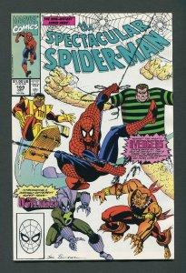 Peter Parker,Spectacular Spiderman #169 / 9.0 VFN/NM  October 1990