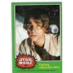 1977 Topps Star Wars FIGHTING IMPOSSIBLE ODDS! #258 EX/MT