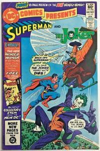 DC COMICS PRESENTS#41 FN/VF 1982 THE JOKER DC BRONZE AGE COMICS