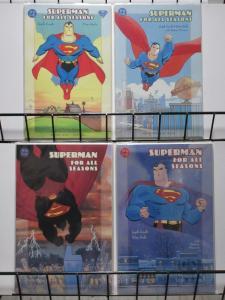 SUPERMAN FOR ALL SEASONS (1998) 1-4  Loeb & Sale