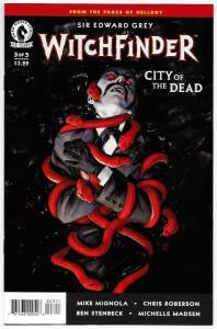 Witchfinder City of The Dead #3 (Dark Horse, 2016) NM