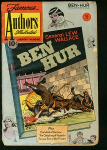 FAMOUS AUTHORS ILLUSTRATED #11-BEN HUR-LEW WALLACE FR/G
