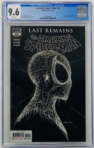 Amazing Spider-Man #55 CGC 9.6 Marvel 2020. First Printing Gleason Variant