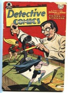 DETECTIVE Comics #127 comic book 1947 Batman-Robin Golden-Age