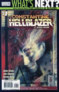 Hellblazer #1 (2nd) VF/NM; DC | save on shipping - details inside