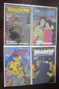 Shadow limited comic set from #1 to #4 all 4 different books 8.5 VF+ (1996)
