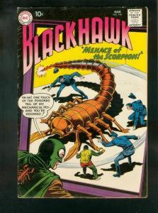 BLACKHAWK COMICS #146 1960-DC COMICS-SCORPION APPEARANCE-fine FN