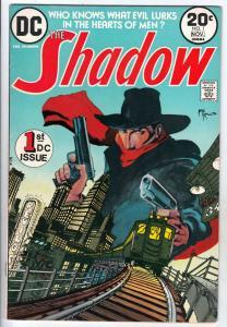 Shadow, The #1 (Nov-73) VF High-Grade The Shadow, Lamonte Cranston