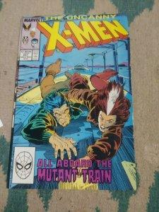UNCANNY X-MEN #237 1988 MARVEL WOLVERINE ROGUE MS MARVEL