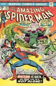 AMAZING SPIDER-MAN #141 Marvel Comics Value Stamp 1975 Mysterio Dan Berkhart