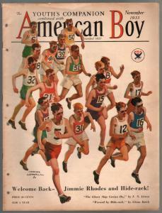 American Boy 11/1933-pulp fiction-Orson Lowell-Schoonover & Brinkerhoof-VG-