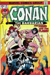 Conan the Barbarian #44 FN; Marvel | save on shipping - details inside