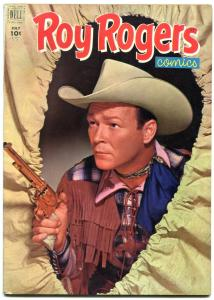 Roy Rogers #55 1952-Dell Golden Age Western- Nice VF
