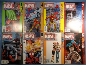 Ultimate Marvel Team-Up Lot #3 #4 #5 #7 #8 #11 #12 #16 Spider-Man Hulk Iron Man