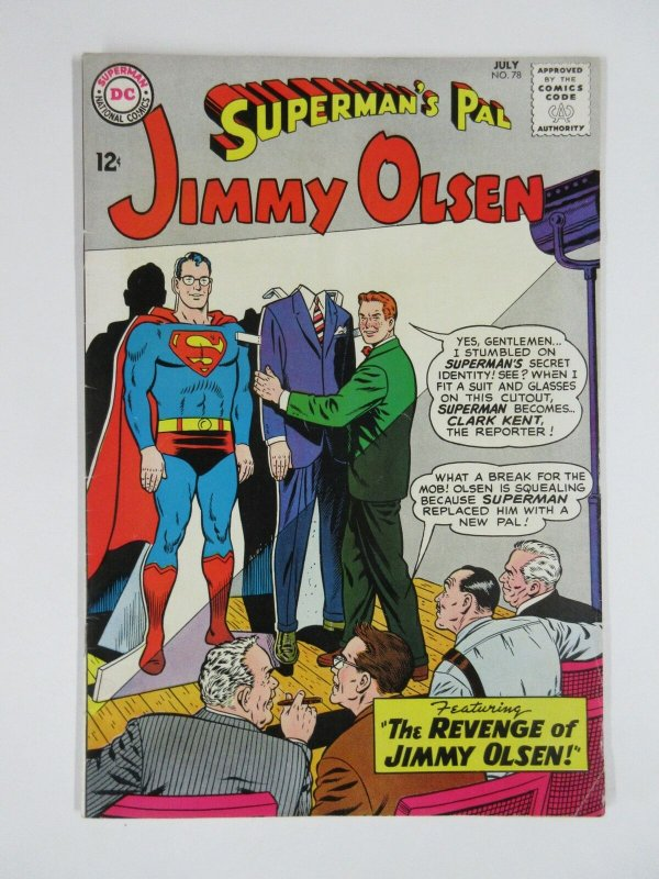 JIMMY OLSEN 78 F- July 1964
