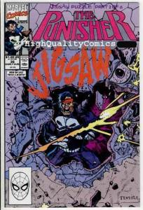 PUNISHER #36, NM+, Jigsaw, Mike Baron, Mark Texeira, 1987, more in store