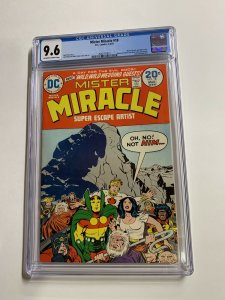 Mister Miracle 18 Cgc 9.6 Ow/w Pages Jack Kirby 2042371013