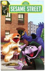 SESAME STREET #1, VF+, Big Bird, Elmo, Oscar, Cookie Monster, 2013, Ape Ent.