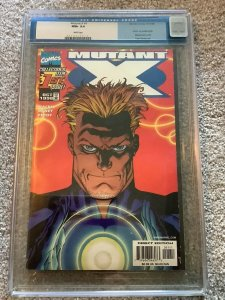 MUTANT X #1  CGC 9.6 VARIANT COVER Tom Raney Art