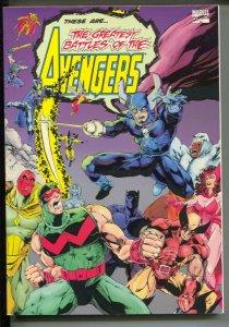 Greatest Battles Of The Avengers-1993-PB-VG/FN