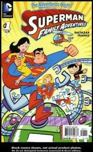 Superman Family Adventures #1 DC 2012 NM.