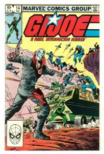 G.I. Joe A Real American Hero 14   1st full Destro